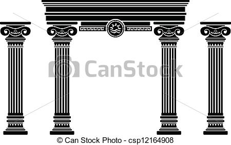 Columns clipart #19, Download drawings