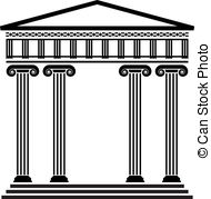 Columns clipart #17, Download drawings