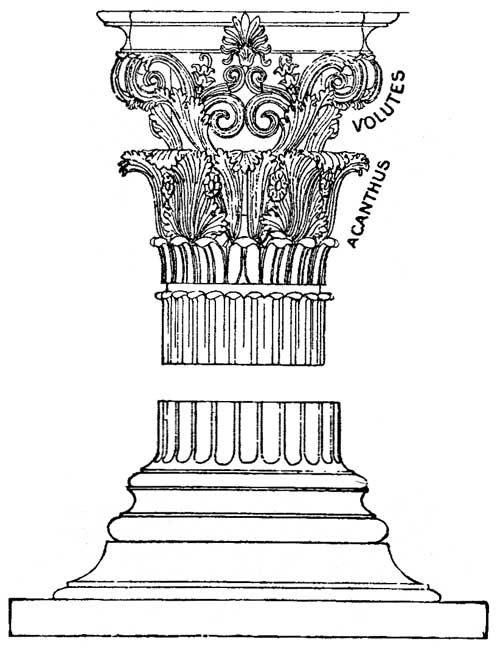 Columns coloring #14, Download drawings