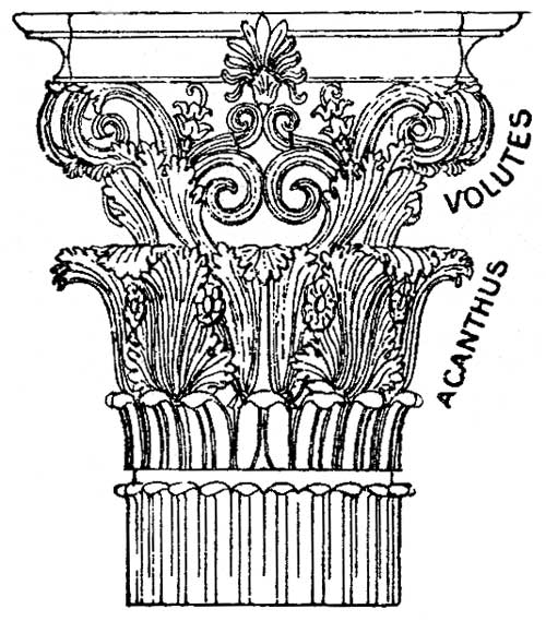 Columns coloring #12, Download drawings