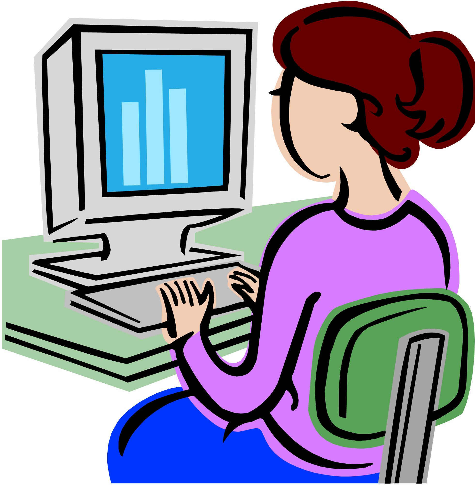 Computer clipart #2, Download drawings