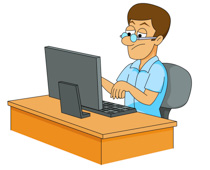 Computer clipart #10, Download drawings