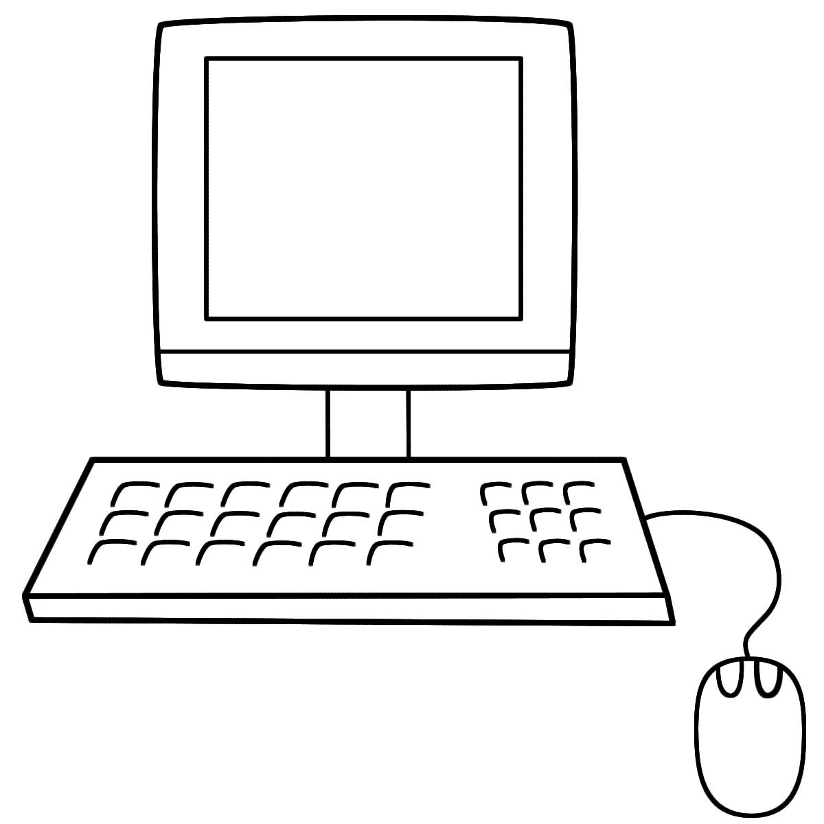 Computer coloring #19, Download drawings