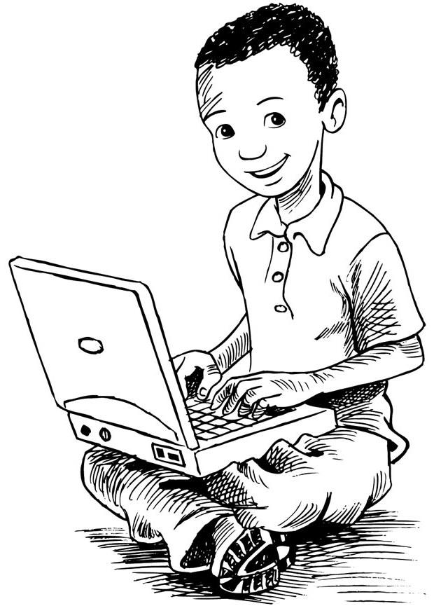 Computer coloring #6, Download drawings