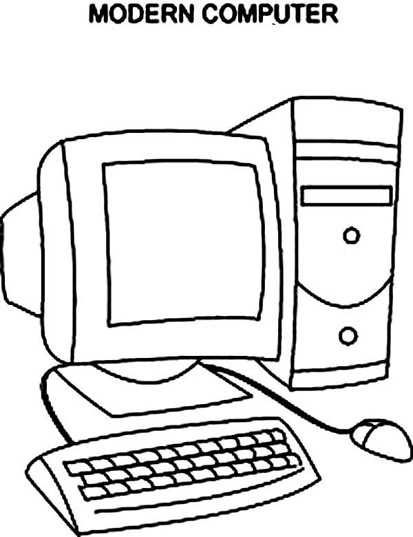 Computer coloring #20, Download drawings