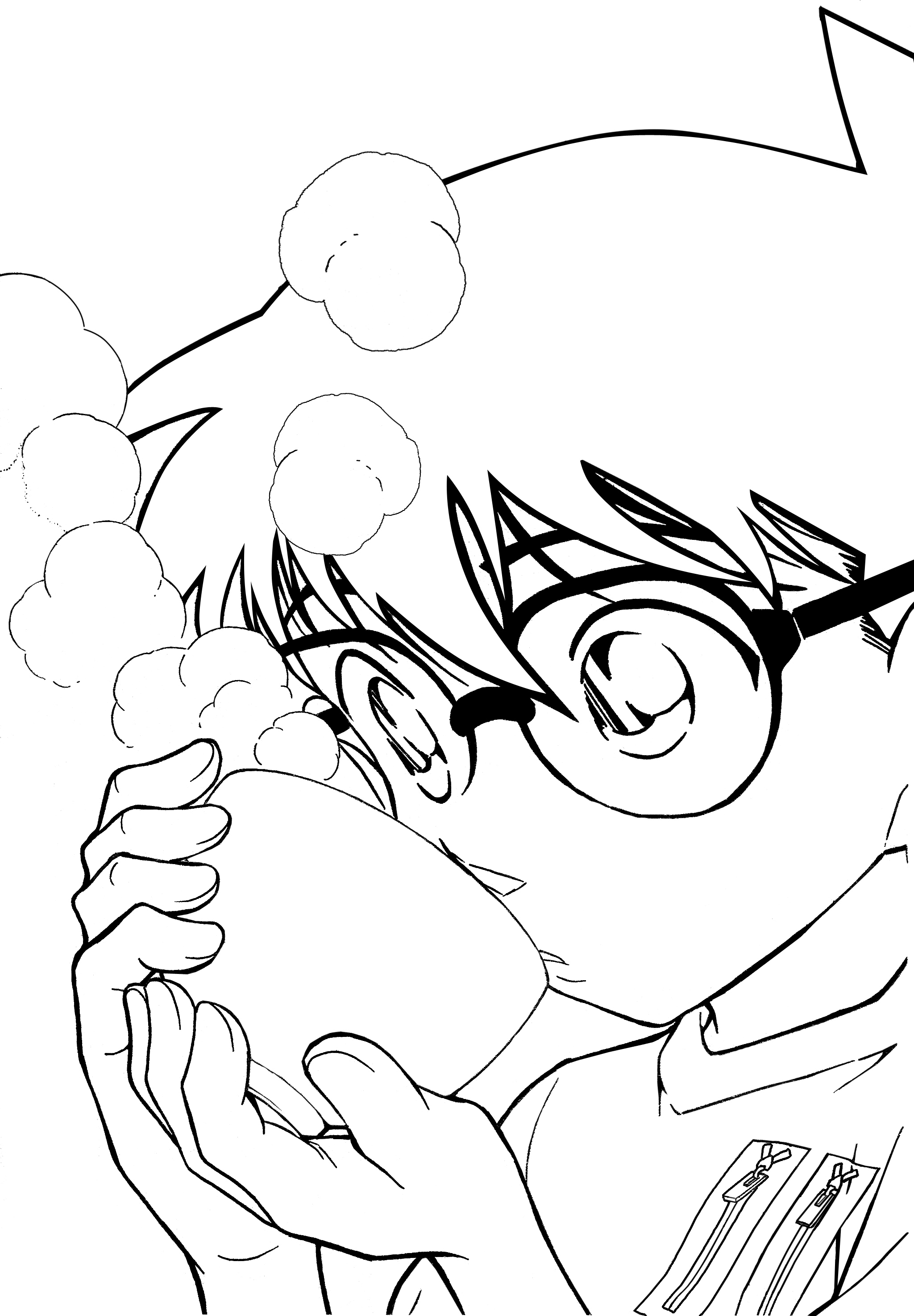 Conan coloring #5, Download drawings