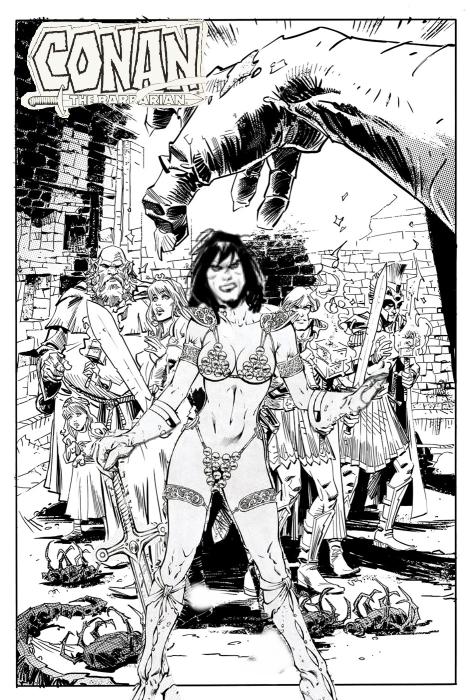 Conan The Barbarian coloring #14, Download drawings