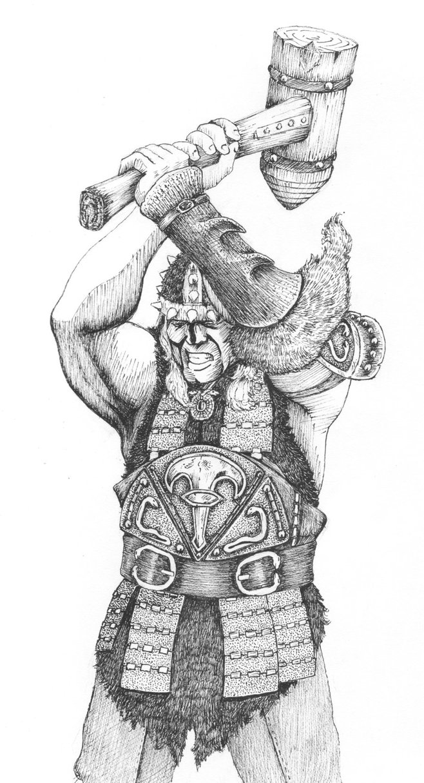 Conan The Barbarian coloring #10, Download drawings