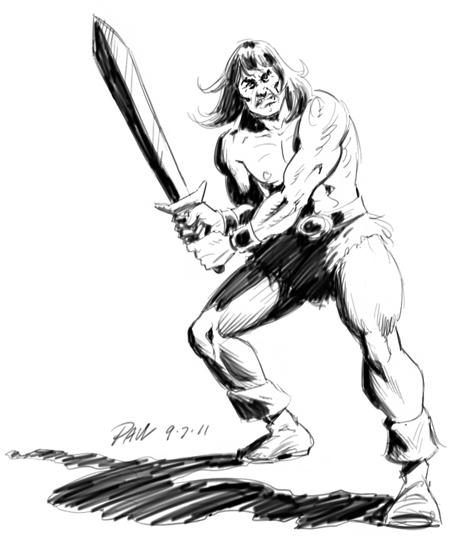 Conan The Barbarian coloring #8, Download drawings