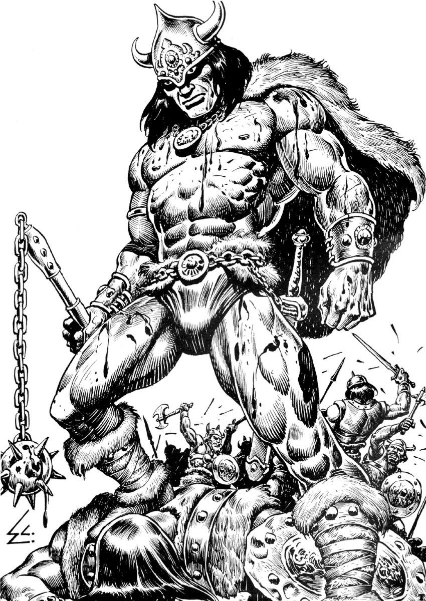 Conan The Barbarian coloring #9, Download drawings