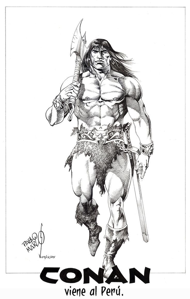 Conan The Barbarian coloring #1, Download drawings