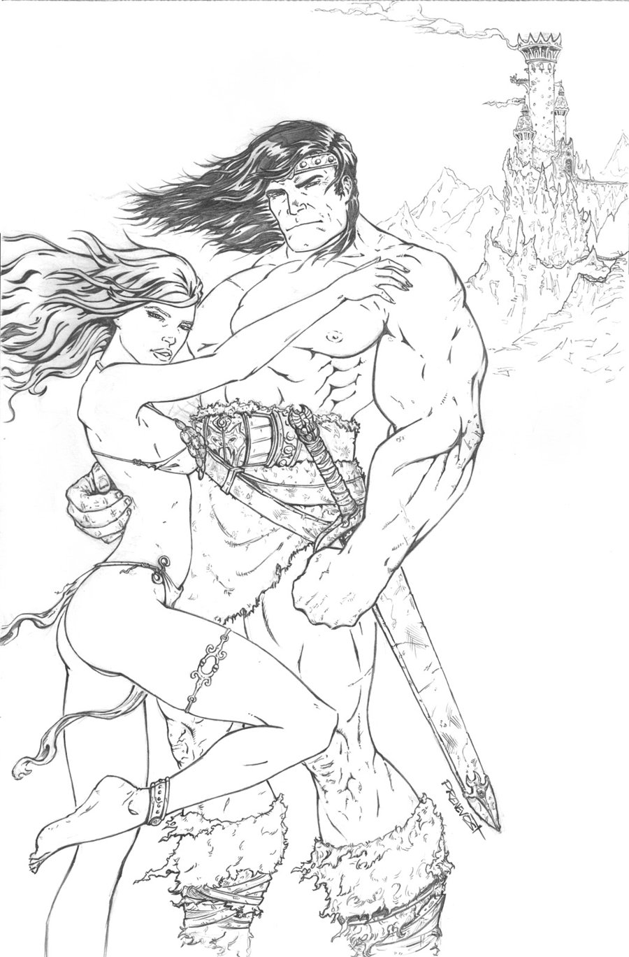 Conan The Barbarian coloring #13, Download drawings