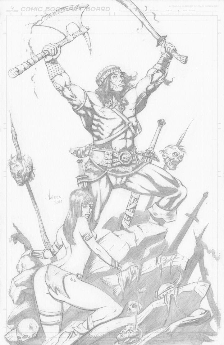 Conan The Barbarian coloring #20, Download drawings
