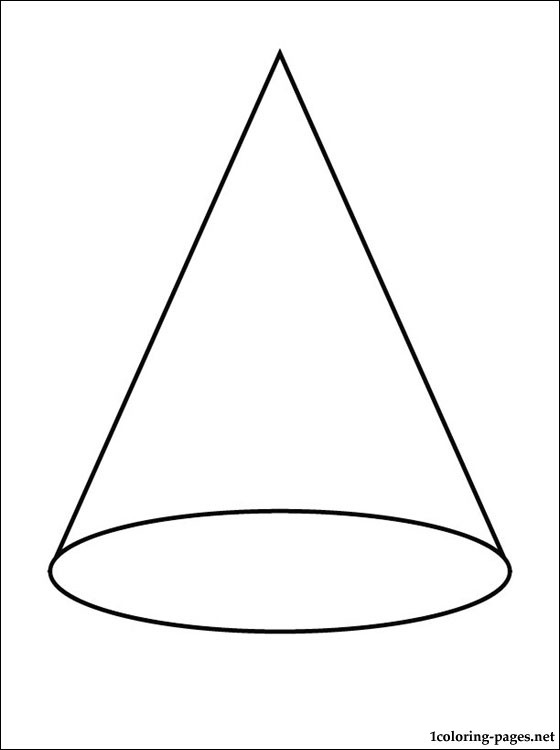 Cone coloring #4, Download drawings