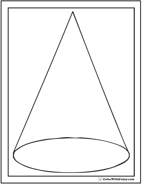 Cone coloring #6, Download drawings