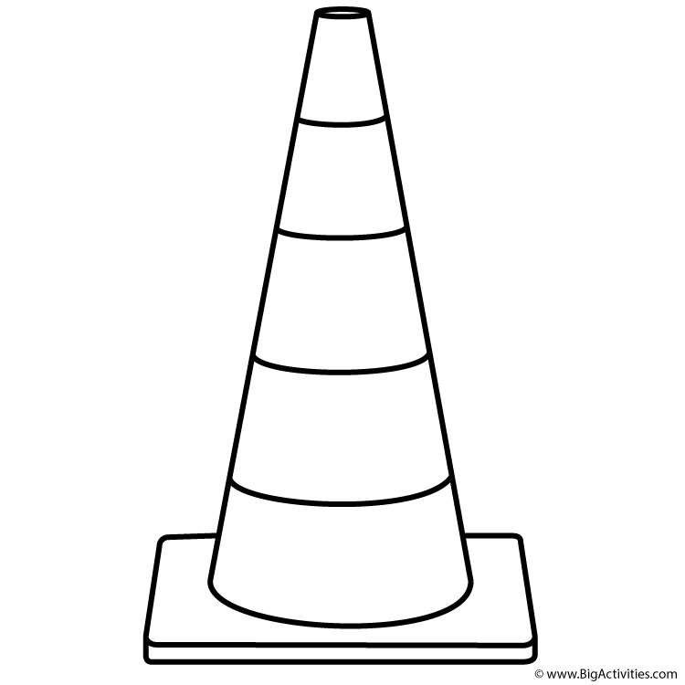 Cone coloring #16, Download drawings