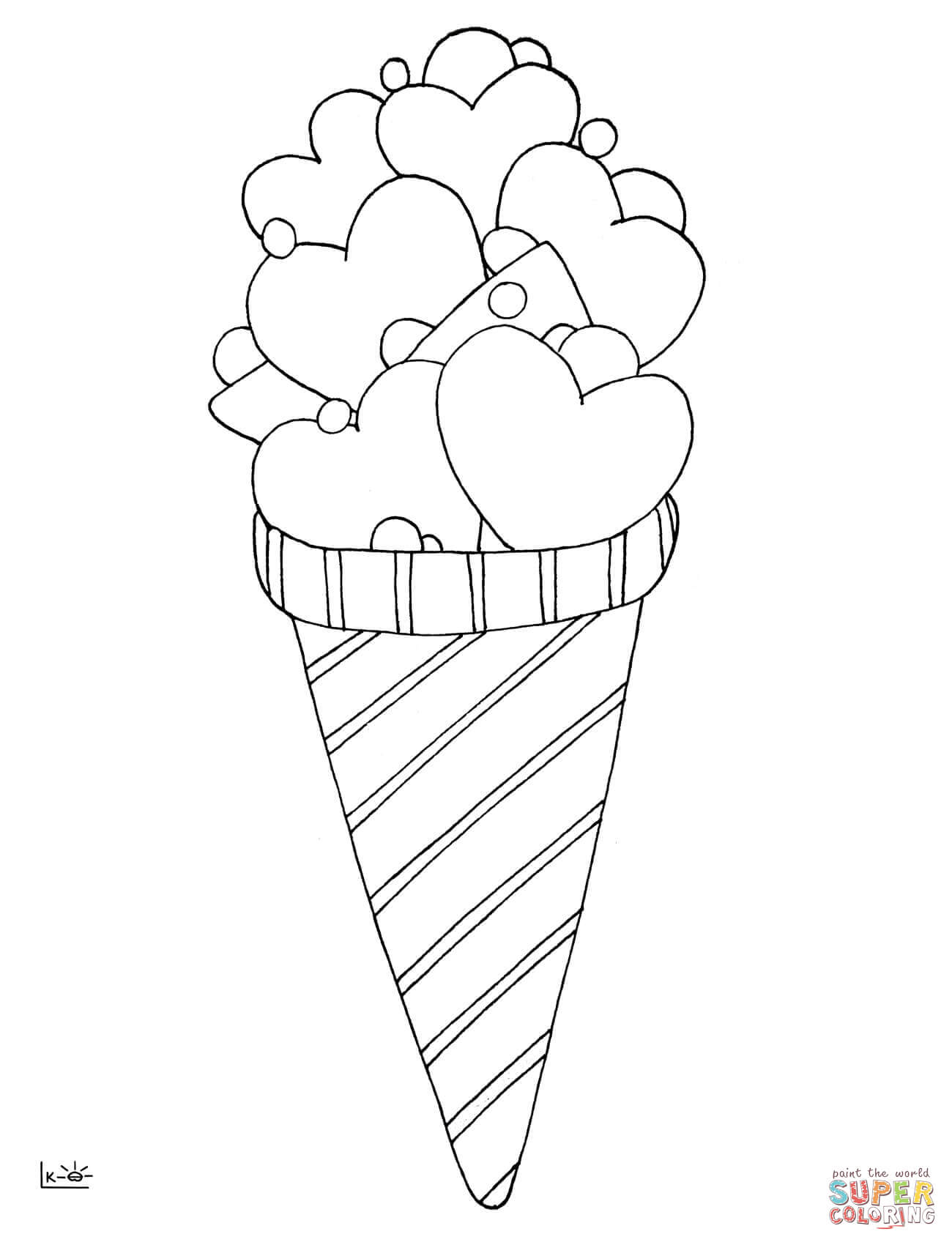 Cone coloring #3, Download drawings