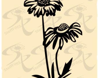 Coneflower svg #16, Download drawings