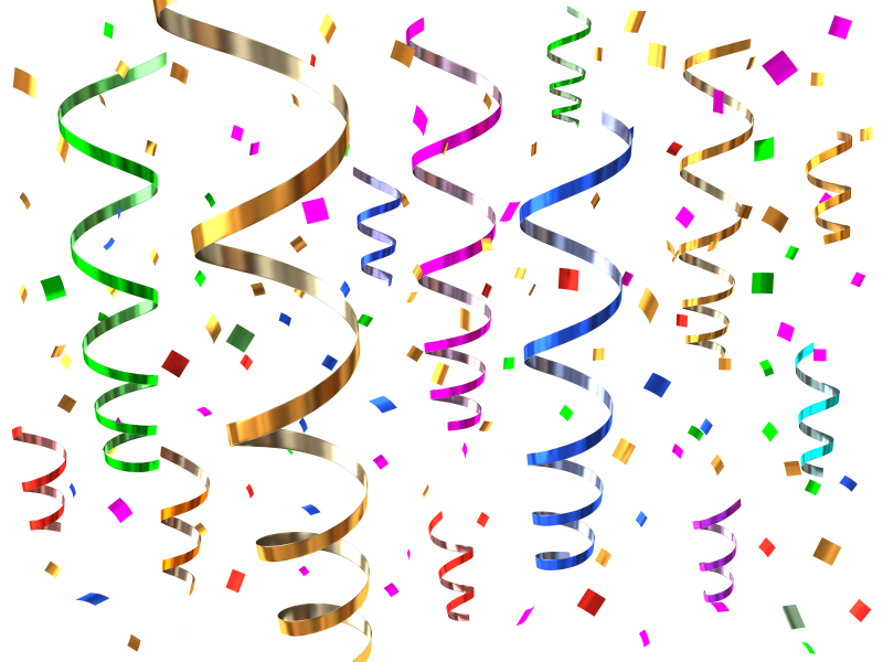 Confetti clipart #2, Download drawings