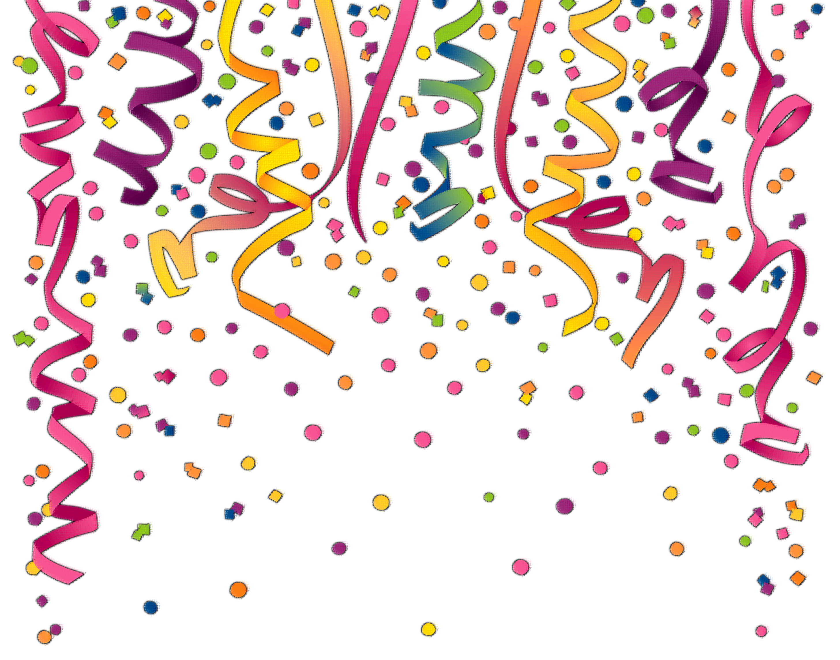 Confetti clipart #5, Download drawings