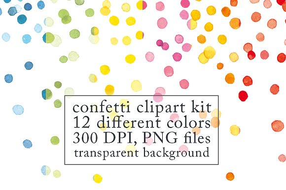 Confetti clipart #10, Download drawings