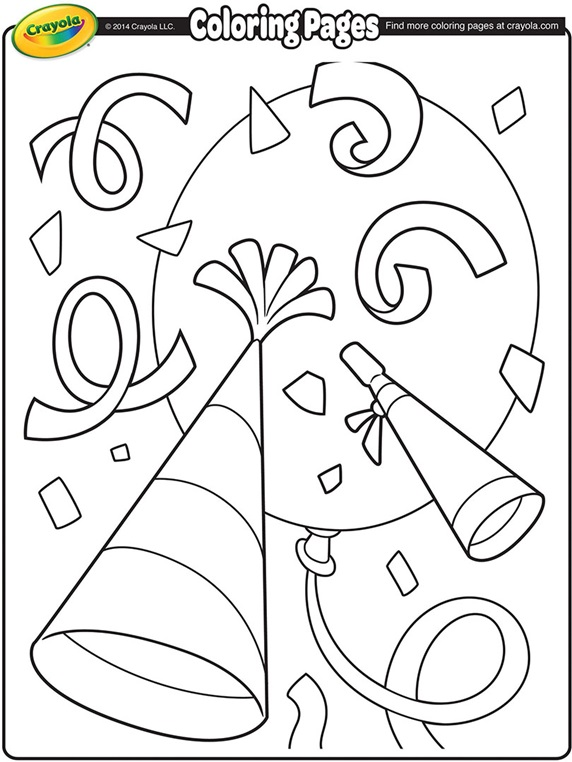 Confetti coloring #12, Download drawings