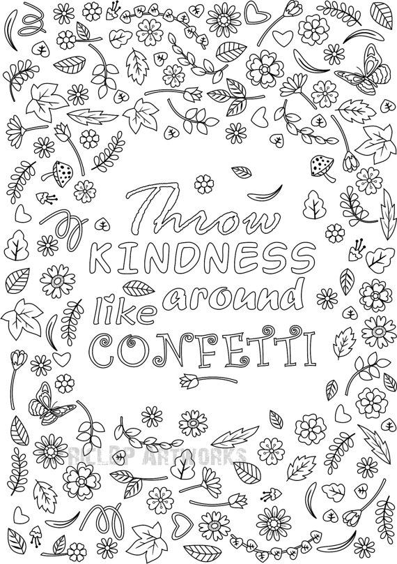 Confetti coloring #15, Download drawings