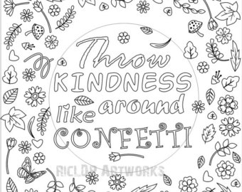 Confetti coloring #5, Download drawings
