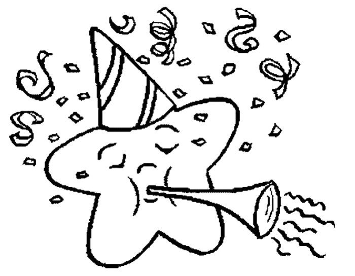 Confetti coloring #14, Download drawings
