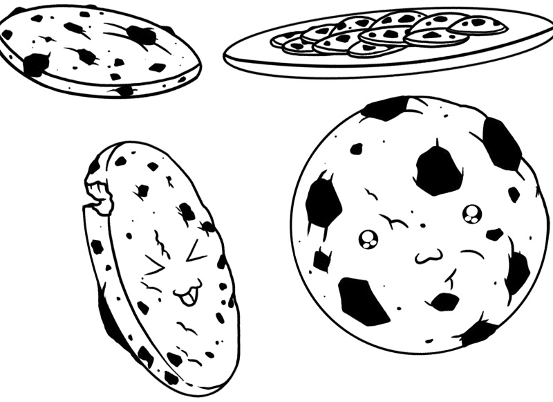 Cookie coloring #18, Download drawings