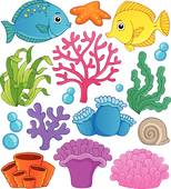Coral clipart #17, Download drawings