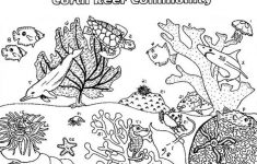 Coral Reef coloring #8, Download drawings