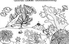 Coral Reef coloring #8, Download drawings