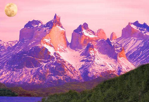 Cordillera Paine coloring #14, Download drawings