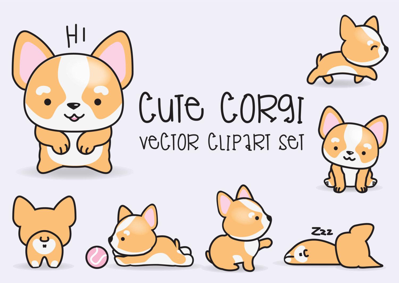 Corgi  clipart #10, Download drawings
