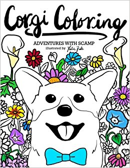 Corgi  coloring #18, Download drawings