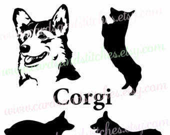 Corgi  svg #15, Download drawings