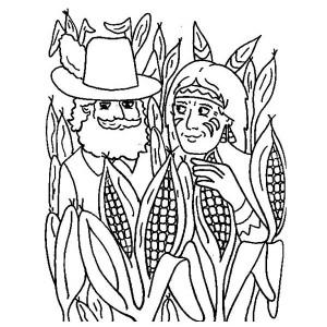 Cornfield coloring #12, Download drawings