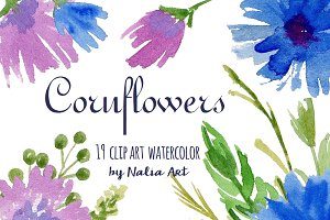 Cornflower clipart #12, Download drawings