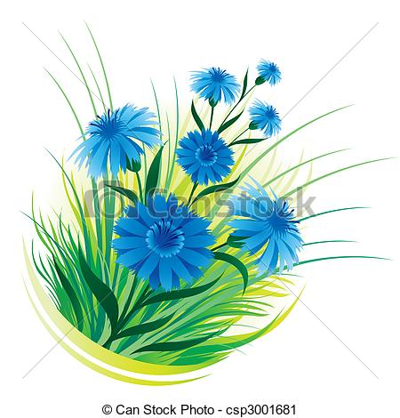 Cornflower clipart #13, Download drawings