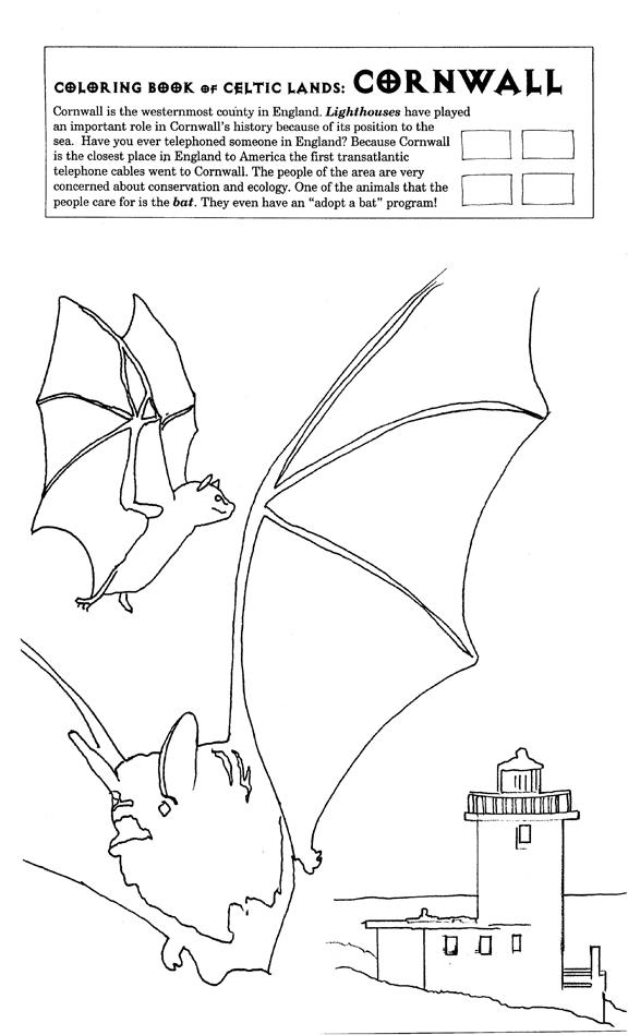 Cornwall coloring #15, Download drawings