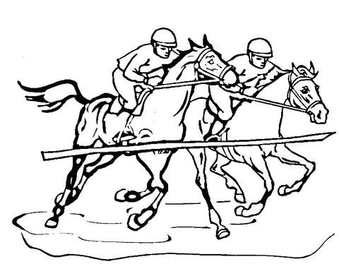 Race coloring #1, Download drawings