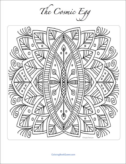 Cosmic coloring #13, Download drawings