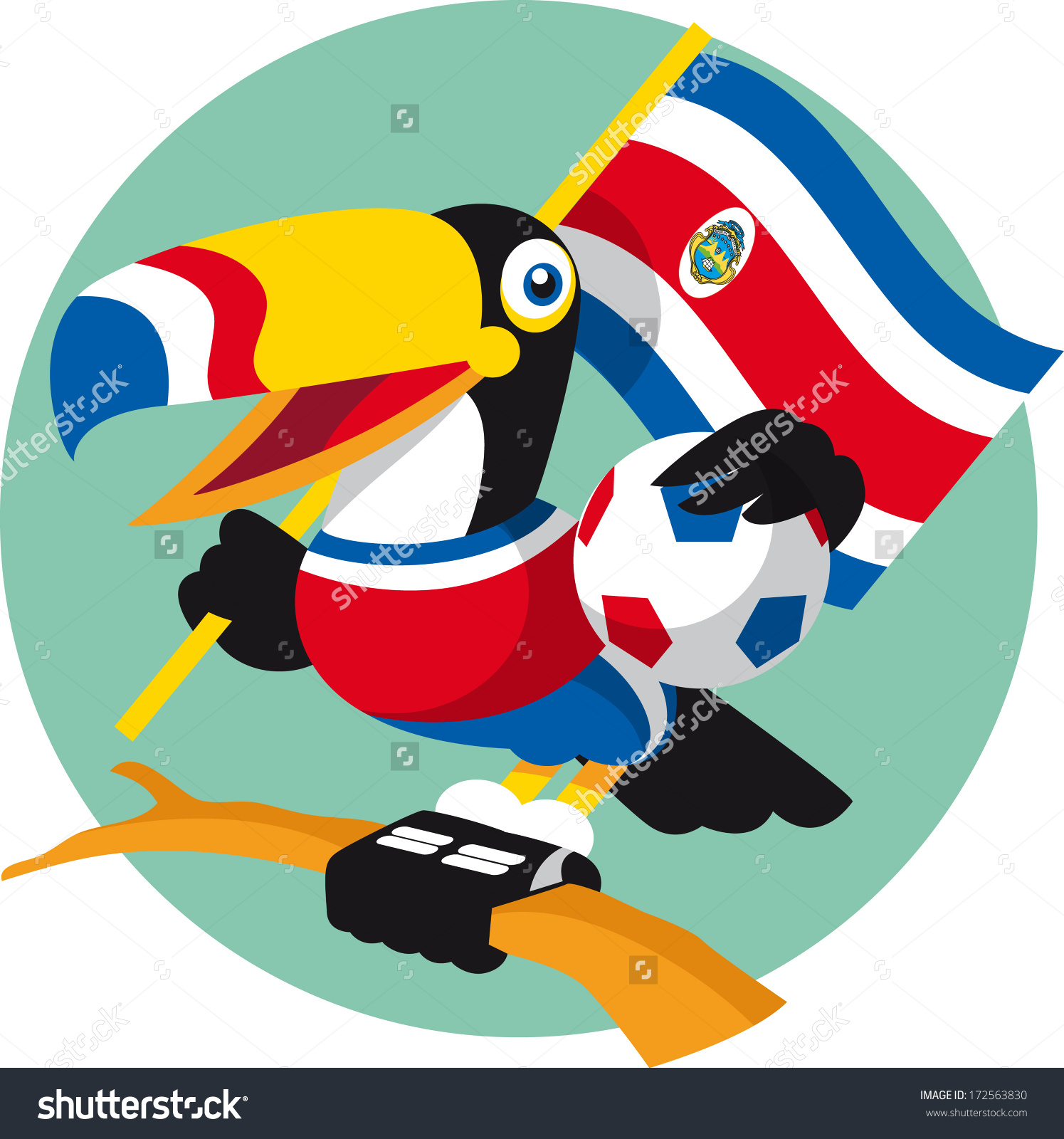 Costa Rica clipart #4, Download drawings