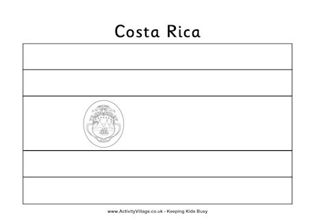 Costa Rica coloring #18, Download drawings