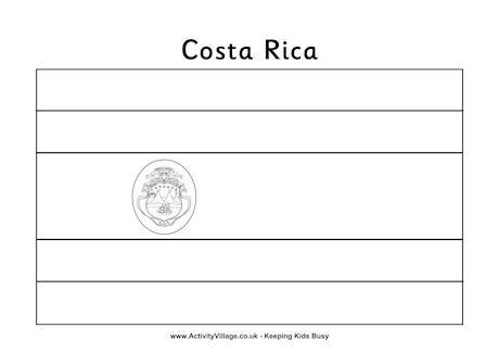 Costa Rica coloring #3, Download drawings