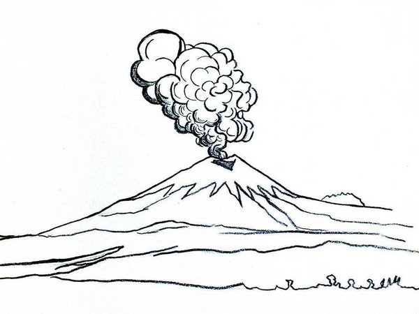 Cotopaxi coloring #15, Download drawings