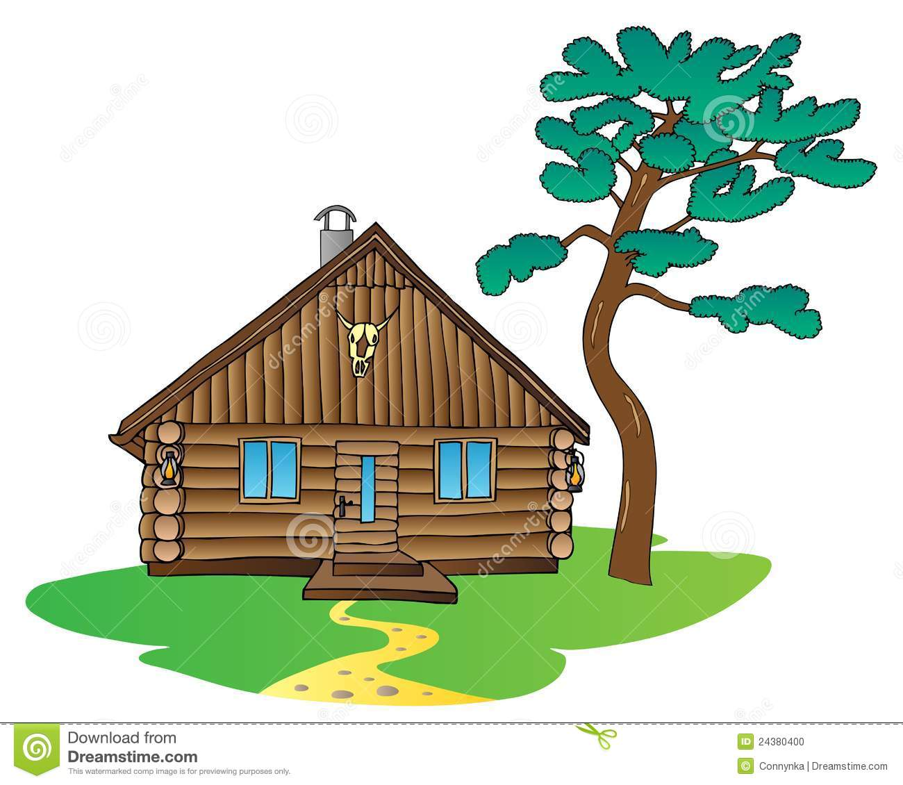 Cottage clipart #3, Download drawings