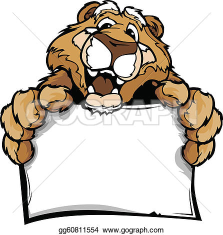 Cougar clipart #13, Download drawings