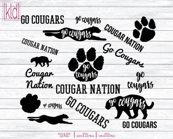 Cougar svg #8, Download drawings